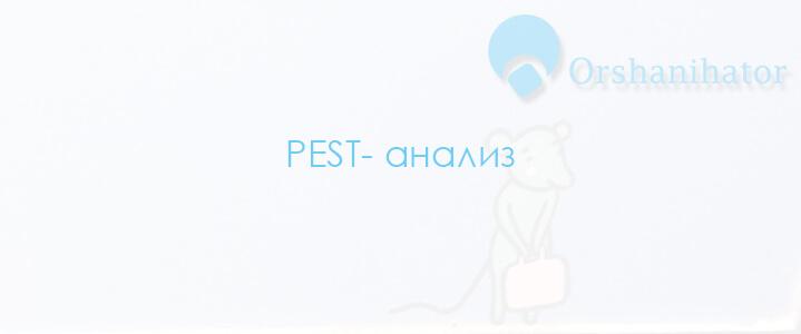 PEST анализ